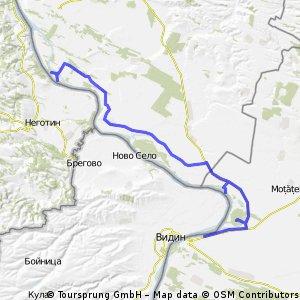 A sasea zi (20.09.2012): Portile de Fier II - Cetate - Calafat
