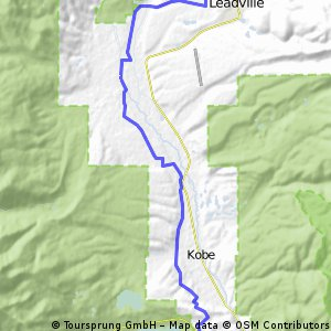 Leadville MTB to Hwy 82 / Twin Lakes
