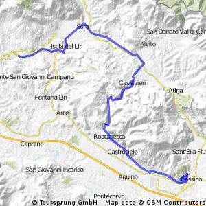 benedettino - 4 tappa (casamari - montecassino)