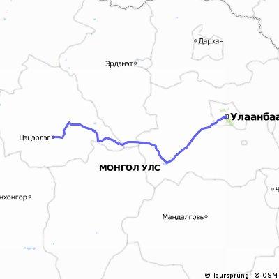 Mongolei Ulambator-Testeserleg