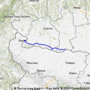 A saptea zi (21.09.2012): Calafat - Bechet - Corabia (Sucidava)