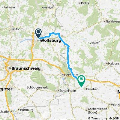 2012 - Wolfsburg - Allerquelle - 1. Tag - Wolfsburg - Ummendorf