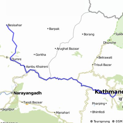 kathmandu besisahar