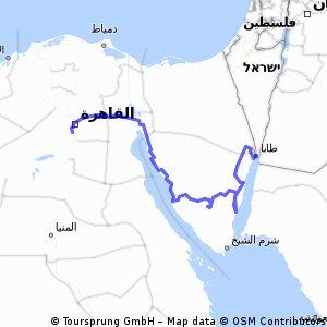 Ägypten: Sinai - Kairo
