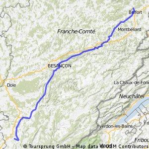 Belfort - Lons-le-Saunier