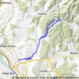 Eimeldingen-Binzen-Wollbach-Scheidegg und zurück