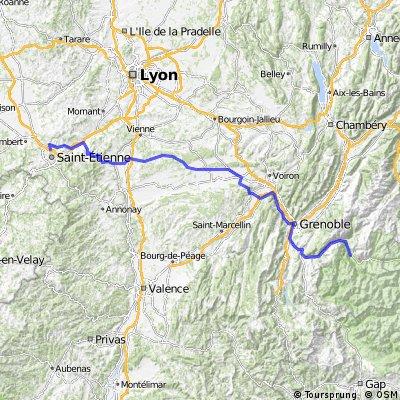 Tour de France 2008, Etappe 18, Bourg D´Oisans- Saint- Ètienne, Fabian Suhr