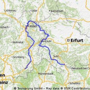 Werra-Fulda-Radtour