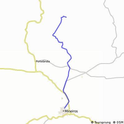 Trilha Pinga-Fogo (Mineiros/Serra do Portão)