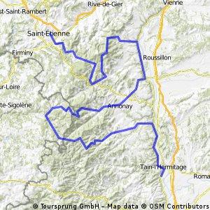 Tournon-sur-Rhône - Saint-Étienne