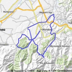 Giro delle Valli Monregalesi - Medio Fondo