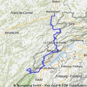 Audincourt - Mont d'Or