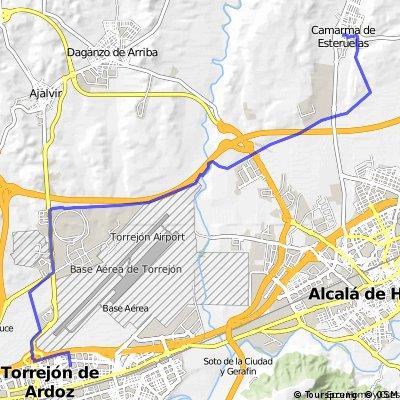 Torrejón- Camarma-Torrejón
