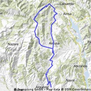 Vuelta Colungo-Boltaña-Colungo