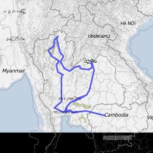 Thailand-Route