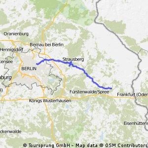 Berlin über Straußberg zum Gut-Alt Madlitz
