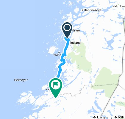 15: Stokka-Camping - Fjelldal-Camping