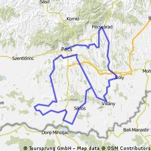2x100 km Baranyában. 2013