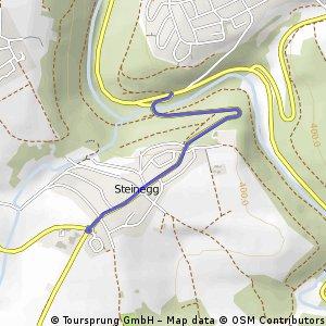 Aufstieg Steinegg