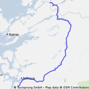16: Fjelldal-Camping - Waldrand hinter Namsos