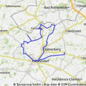von Greffen ins Münsterland