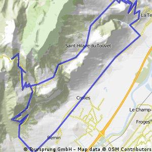 Col du Coq in two segments.