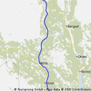 20: Alvdal ( Langodden-Camping ) - Koppang