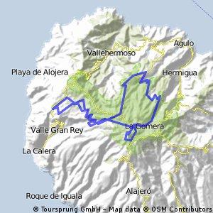 La Gomera, Arure - El Cedro