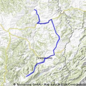 Mazaleón-Valderrobles-Fuentespalda-Valderrobles-Mazaleón