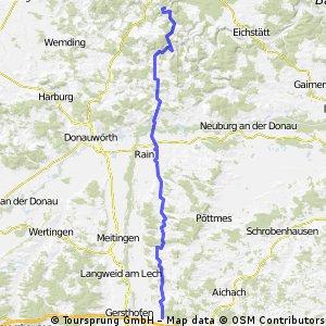 Derching - Pappenheim
