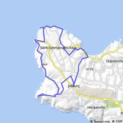 Jobourg - Nez de J. - Cap de la Hague - Port Racine -Jobourg
