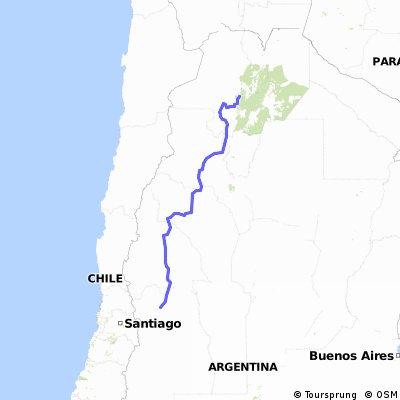 Routa 40 Mendoza Salta