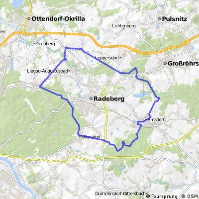 Rundweg Dresdener Heide und Seifersdorfer Tal