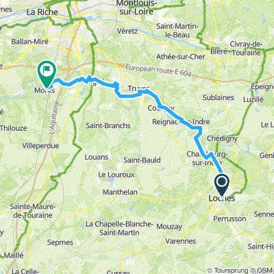 CFL D05 Loches - Esvres - Monts 48km