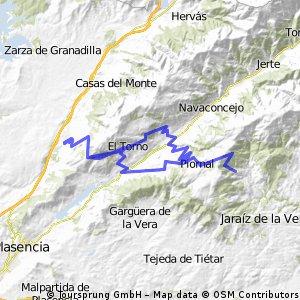 Villar de Plasencia- Puerto del Piornal.