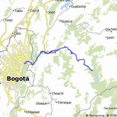 Bogotá - Chingaza