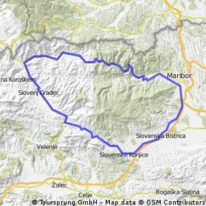 Okoli Pohorja
