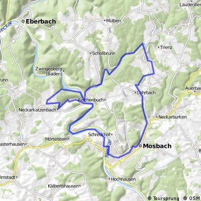 Rundkurs Wanderbahn-Seebachtal CLONED FROM ROUTE 404779