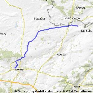 Friedensradfahrt 2009 Paris - Moskau 15. Etappe Weimar - Bad Sulza am 20. Juli 2009