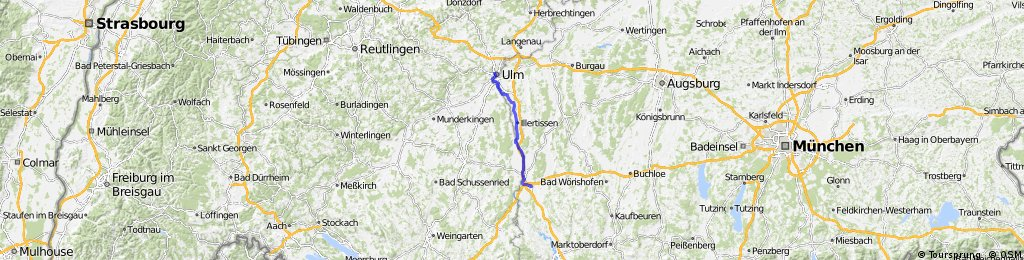P3 Illerradweg Memmingen Ulm Bikemap Your Bike Routes