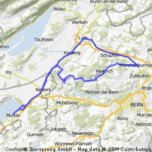 Bike Trip Summer 2012 - Home to Murten & back