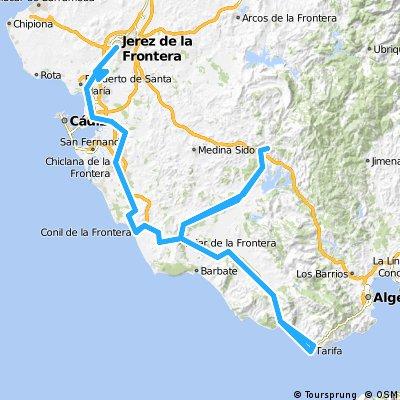2012 - Tagestouren von Conil aus