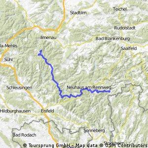 Thüringenrundfahrt Teil  3