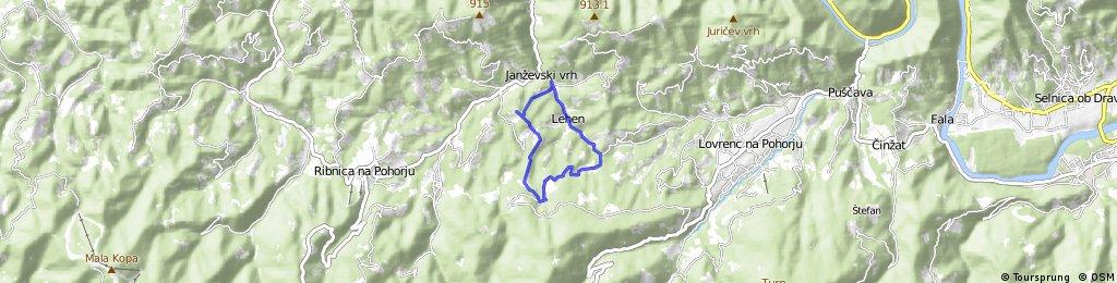 na Fabjanov vrh