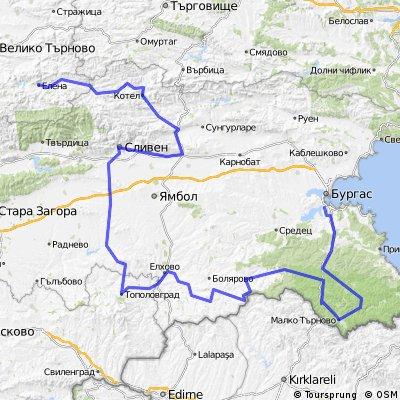 Bulgaria: Elena-Topolovgrad-Burgas