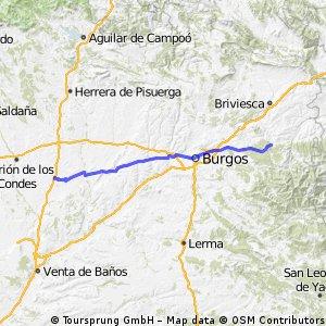 4th day Camino de Santiago - Villafranca Montes de Oca to Fròmista