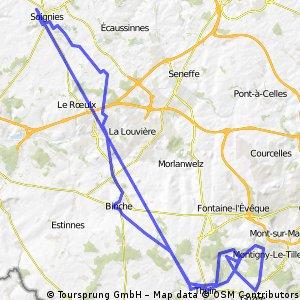 Soignies-abbaye d'Aulne-Soignies