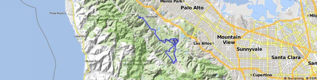 Low-Key Hillclimbs: Portola Valley Hills