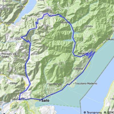 San Felice de Benacio zum Lago di Valvestino  CLONED FROM ROUTE 1936385