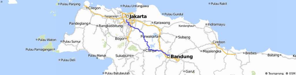 Sepeda Lipat Jakarta Bandung Indra Uno